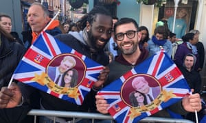 Royal Wedding Cancelled.A Moment In History Royal Wedding Enchants Visitors From Far And