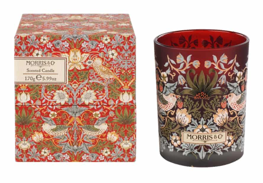 Scented candle from heathcote-ivory.com