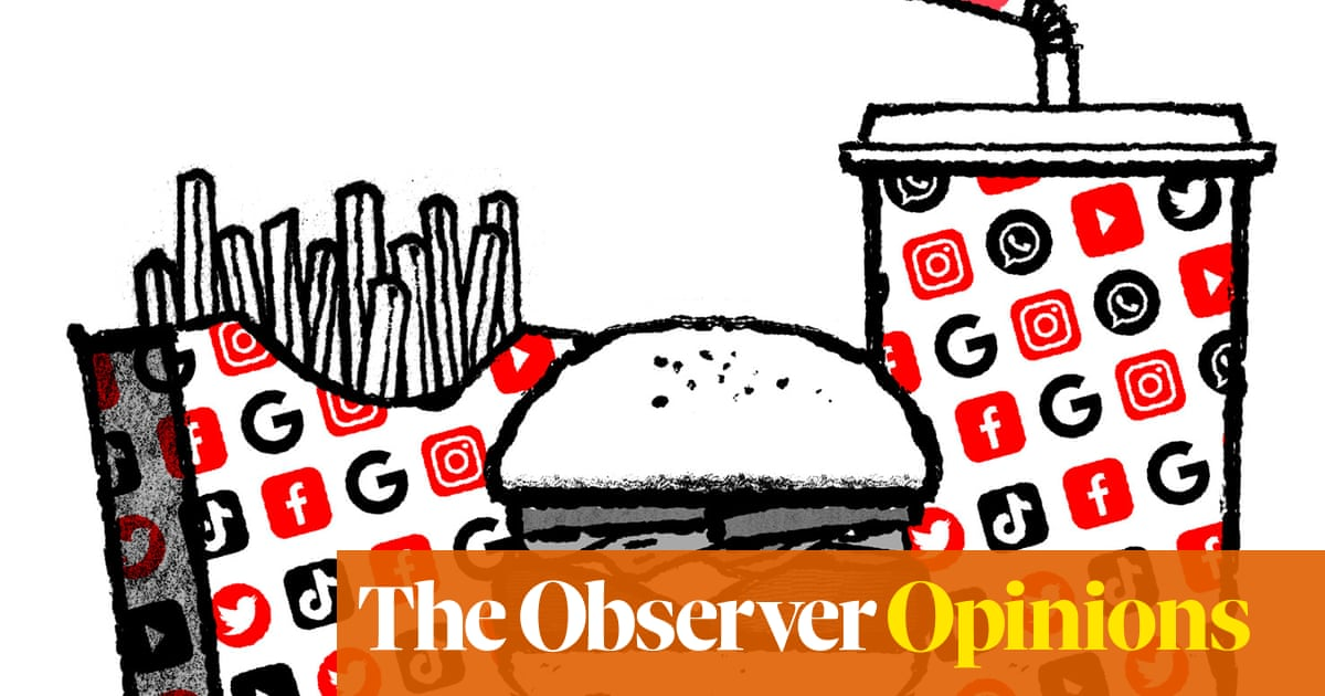 The tech giants' diet is bad for everyone's health | David Mitchell