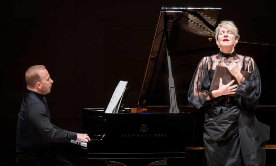 Yannick Nézet-Seguin and Joyce DiDonato performing Schubert's Die Winterreise.