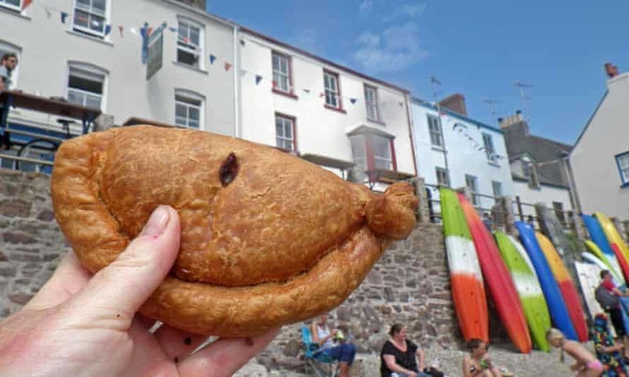 Cornish pasty.