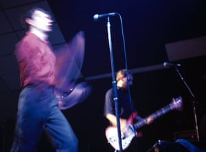 Ian Curtis and Peter Hook.