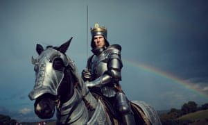 Benedict Cumberbatch … The Hollow Crown.