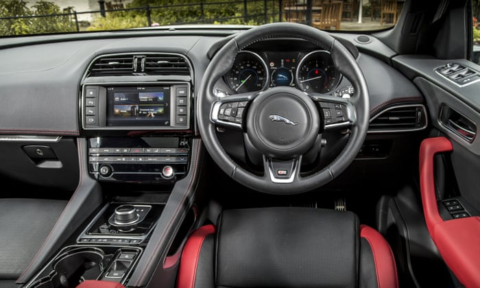 Jaguar F Pace Car Review Martin Love Technology The Guardian