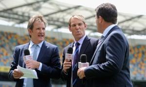 Cricket commentators
