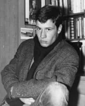 WG Sebald, aged about 17.