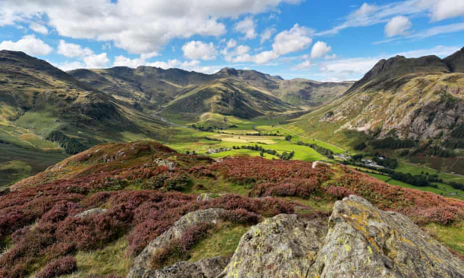 'Heart-soaring and majestic': Langdale valley in the Lake District.