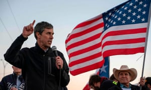 Beto O'Rourke said: 'All of us together are going to make our stand.'