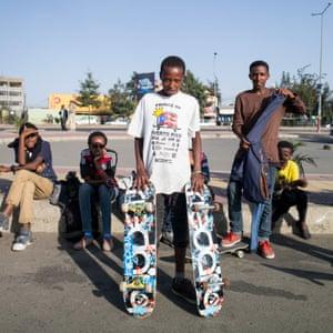Ethiopia skating