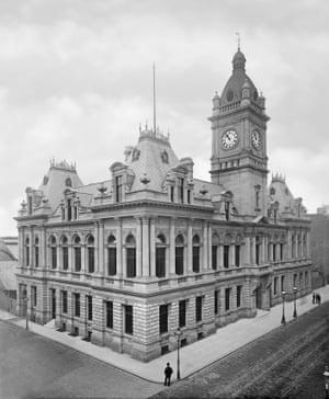 Sunderland Town Hall, 1891 - demolished in 1971 after a controversial GBP 50,000 investment