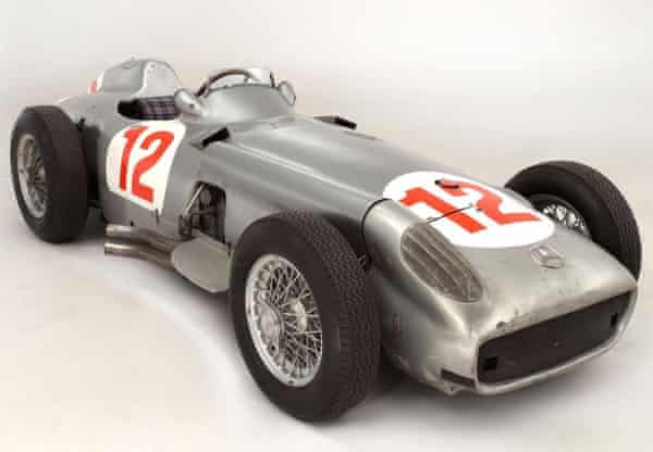The W196 sold at Bonhams for a winning bid of £19,601,500
