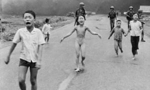 The historic photo from the Vietnam war that was censored.