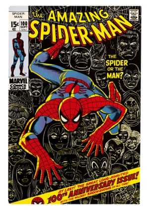 In 1971, Roy Thomas became the first person besides Stan to write Spider-Man when he penned Amazing Spider-Man Vol. 1 No. 100 while Stan was on sabbatical for a few months early in the year to write a screenplay with director Alain Resnais (the film was never produced).