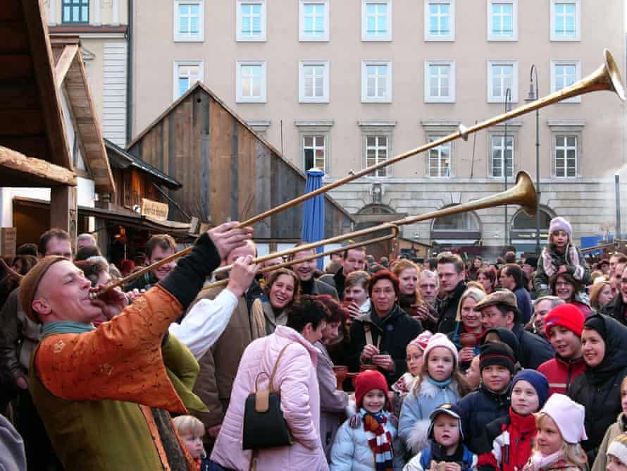 Mittelaltermarkt is a cross between market and medieval fair