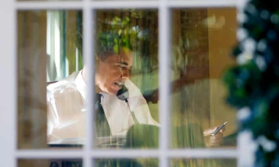 Obama, the 'informed observer', seen in 2009 at the White House.