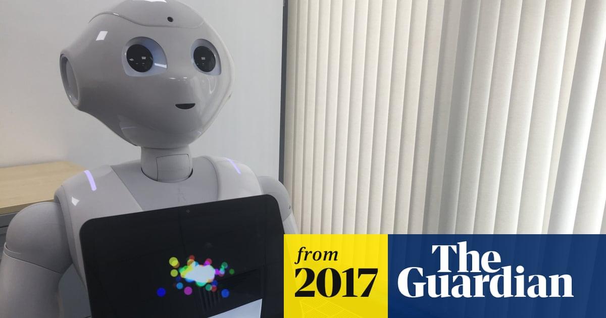 Meet Pepper the robot – Southend's newest social care