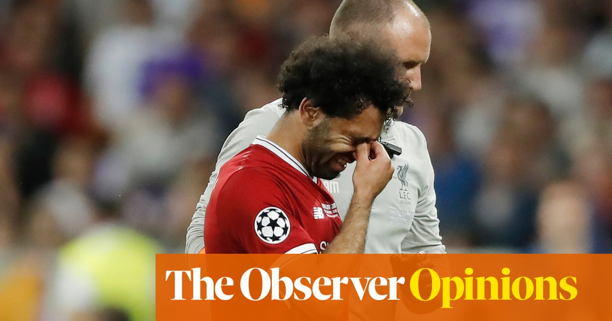 79eeed57380 Mo Salah s tears and agony a cruel end to his season of joy with Liverpool