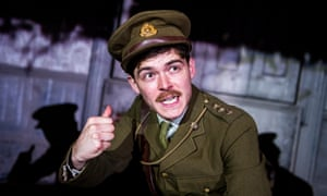 Alexander Knox (Charlie) in It Is Easy To Be Dead by Neil McPherson at Finborough theatre, London