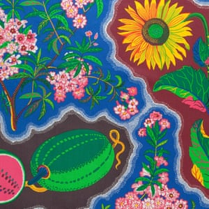 Josef Frank, Dixieland, 1941-46  As well as painting, furniture design and architecture, Austrian designer Josef Frank is celebrated for his wildly colourful fabrics. An exhibition, Josef Frank: Patterns–Furniture–Painting is at the Fashion and Textile Museum, London, 28 January–7 May. All images: Josef Frank courtesy of Svenskt Tenn