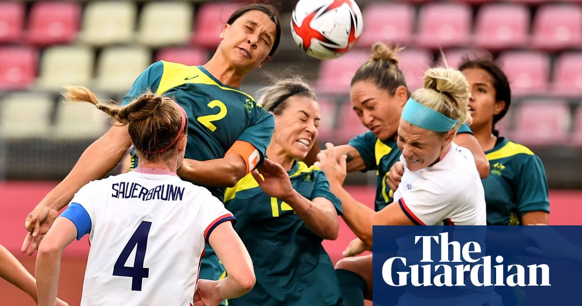 USA limp into Olympic knockout stages after stalemate against Australia
