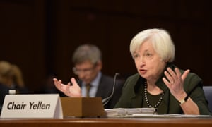 """Joint Economic Committee of the US Congress, Capitol Hill, Washington DC, America - 03 Dec 2015<br>Mandatory Credit: Photo by Xinhua/REX Shutterstock (5470742b) Janet Yellen Joint Economic Committee of the US Congress, Capitol Hill, Washington DC, America - 03 Dec 2015 U.S. Federal Reserve chairwoman Janet Yellen testifies before the Joint Economic Committee of the U.S. Congress on """"The Economic Outlook"""", on Capitol Hill in Washington D.C. Yellen on Thursday gave an upbeat assessment of the U.S. economy before lawmakers, signaling an interest rate hike likely in December."""