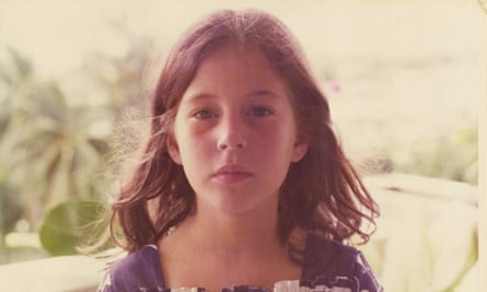 Ariel Leve in Thailand, aged seven.