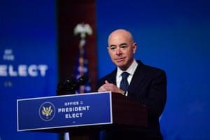 Alejandro Mayorkas has been named Secretary of Homeland Security.