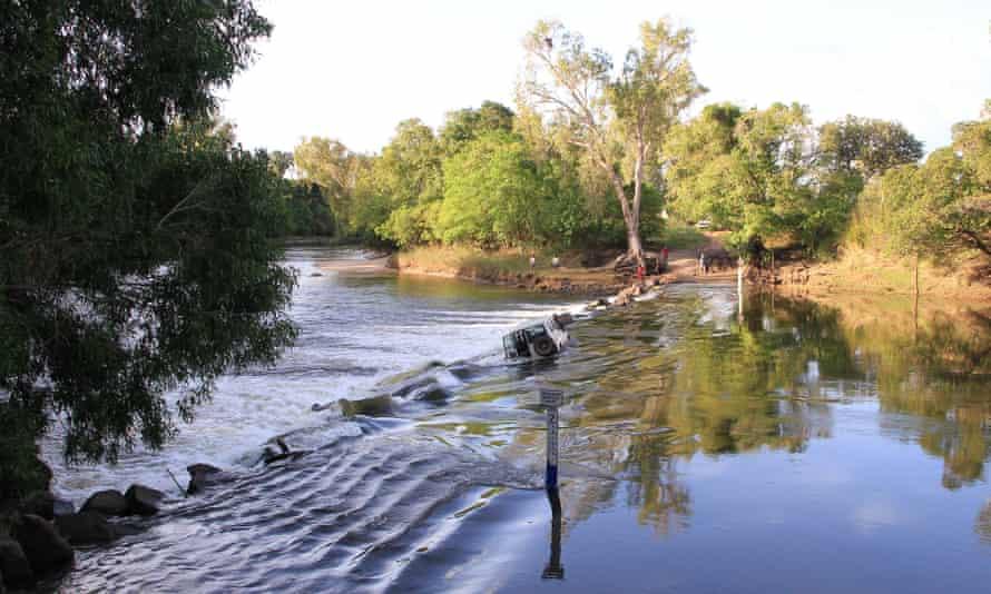 Cahill's Crossing between Kakadu and Arnhem Land in Australia's Northern Territory.