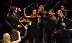 Nicholas Collon and the Aurora Orchestra perform Mozart's Jupiter from memory in Prom 21