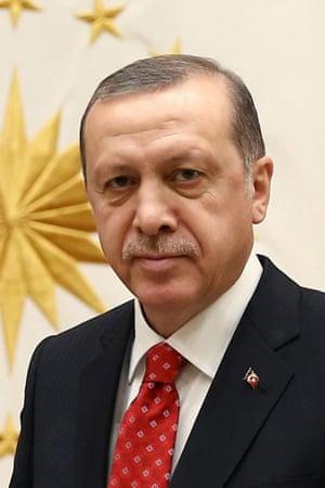 Turkey's President Recep Tayyip Erdoğan