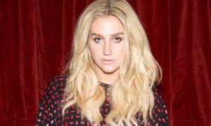 Recording artist Kesha