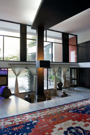 The Nirlep Kaur residence, sector 4, designed by Pierre Jeanneret, Le Corbusier's cousin, in 1961