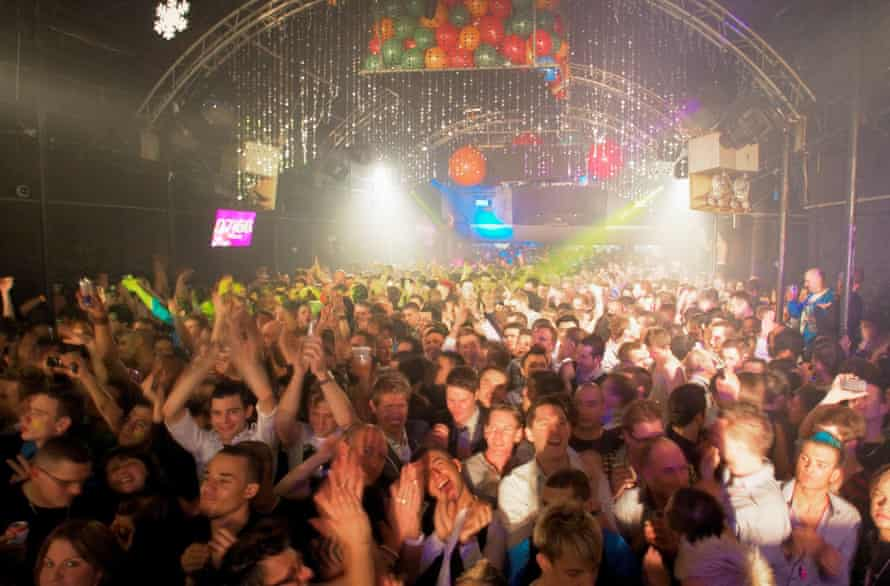 New Year's Eve at G-A-Y Heaven in Charing Cross, London, before the pandemic. Nightclubs have been hit hard by the Covid crisis.