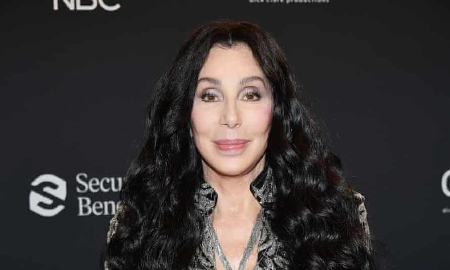 Cher at the Billboard Music Awards, October 2020.