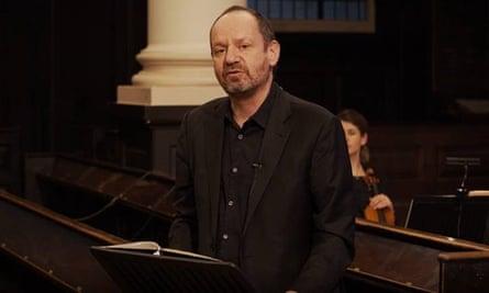 فیلیپ سندز عاشق ، دروغ و عدالت در سنت مارتین در فیلدز ، لندن.