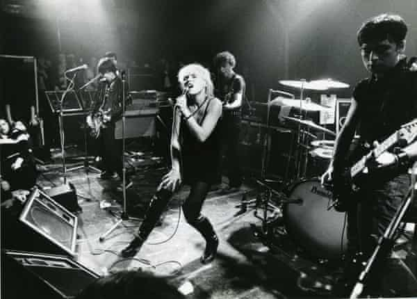 Live on stage in Amsterdam in 1977.