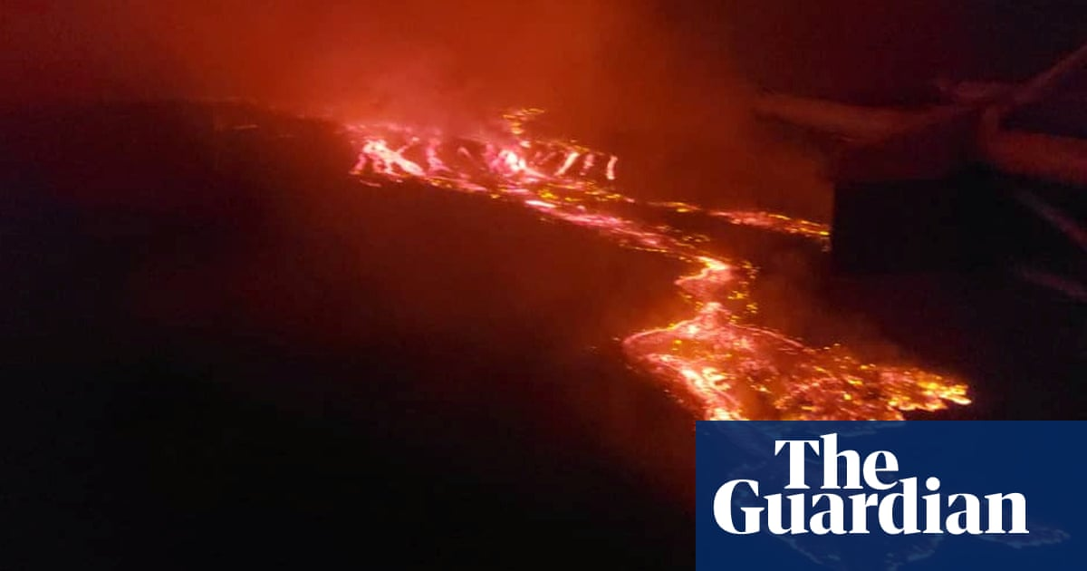 At least 15 die in lava flows after volcano erupts in Democratic Republic of Congo