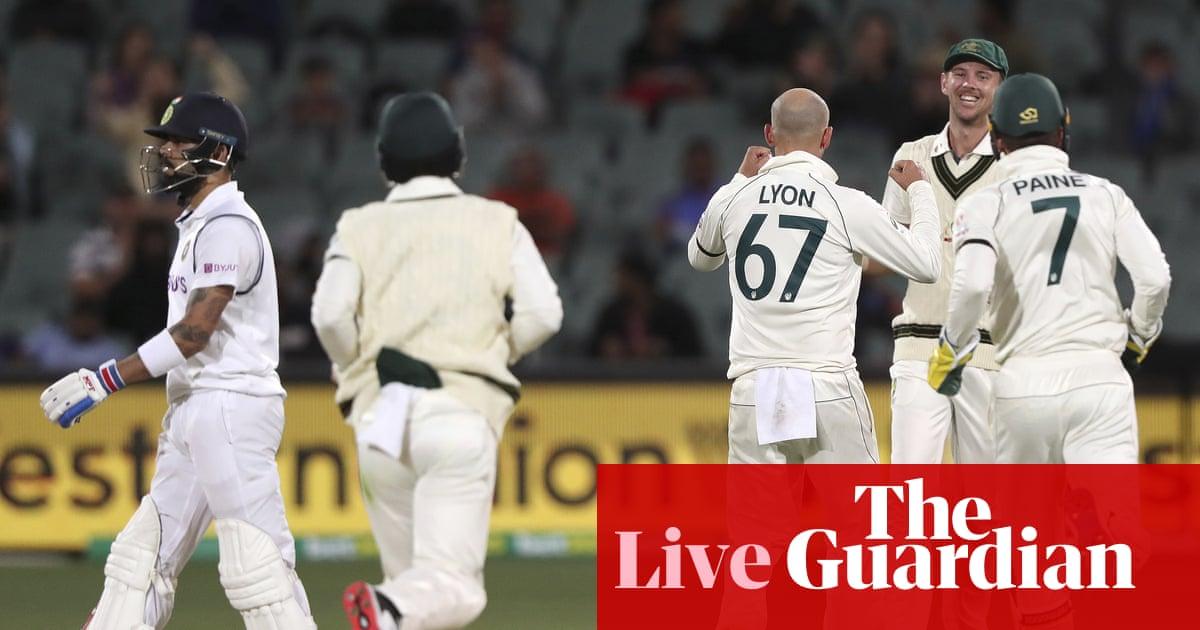 Australia v India: first Test, day one – live!