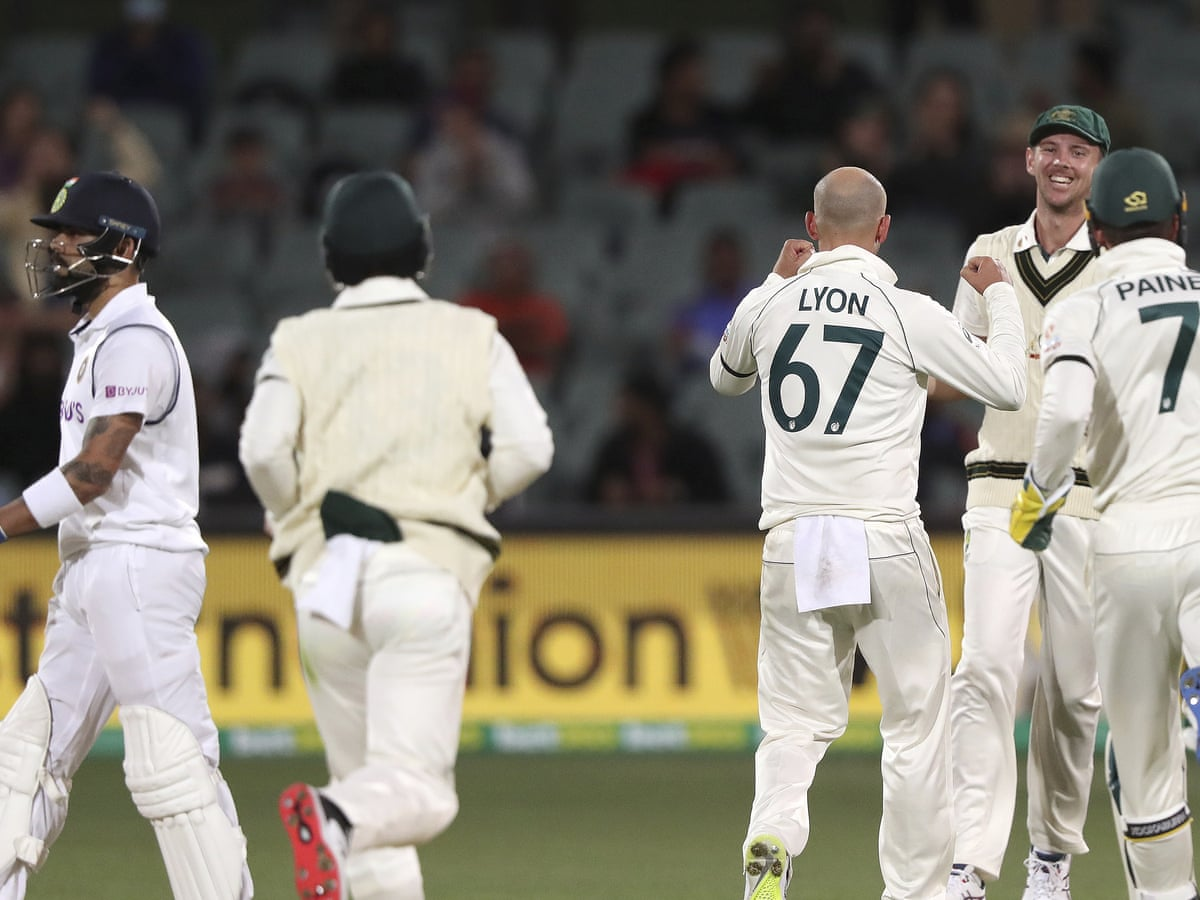 Australia Inch Ahead In First Test After Kohli Run Out As It Happened Sport The Guardian
