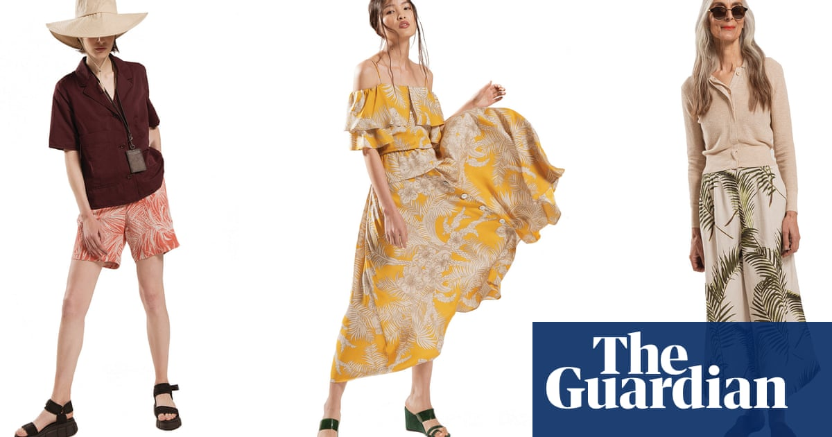 The best tropical prints for all ages – in pictures
