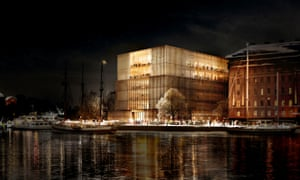 David Chipperfield's design for the Nobel Centre in Stockholm