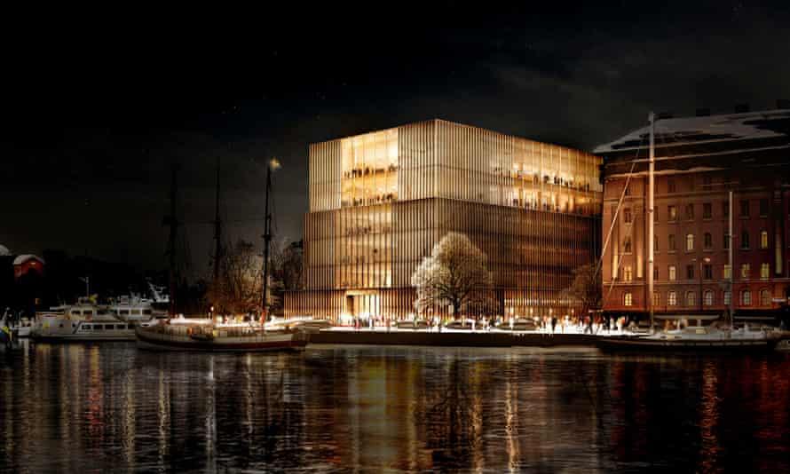 David Chipperfield's design for the Nobel Centre in Stockholm