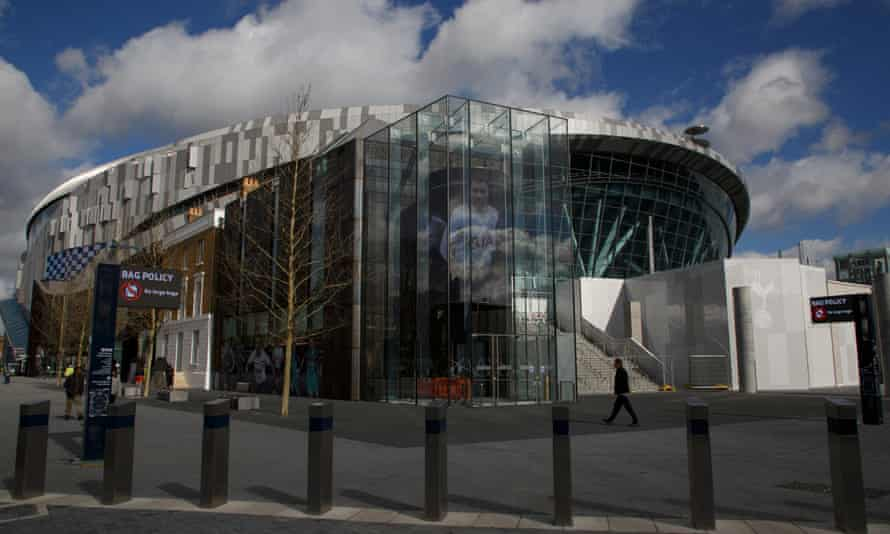 The new Spurs stadium
