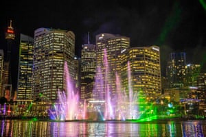 Darling Harbour and the Star casino