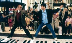 Robert Loggia and Tom Hanks in the box-office triumph Big (1988)