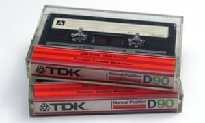 The classic TDK D90. Time to make a mixtape …