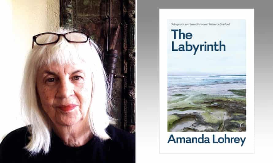 Australian author Amanda Lohrey with her 7th novel The Labyrinth