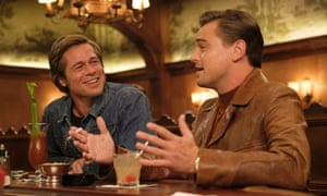 Double act … Pitt and DiCaprio.