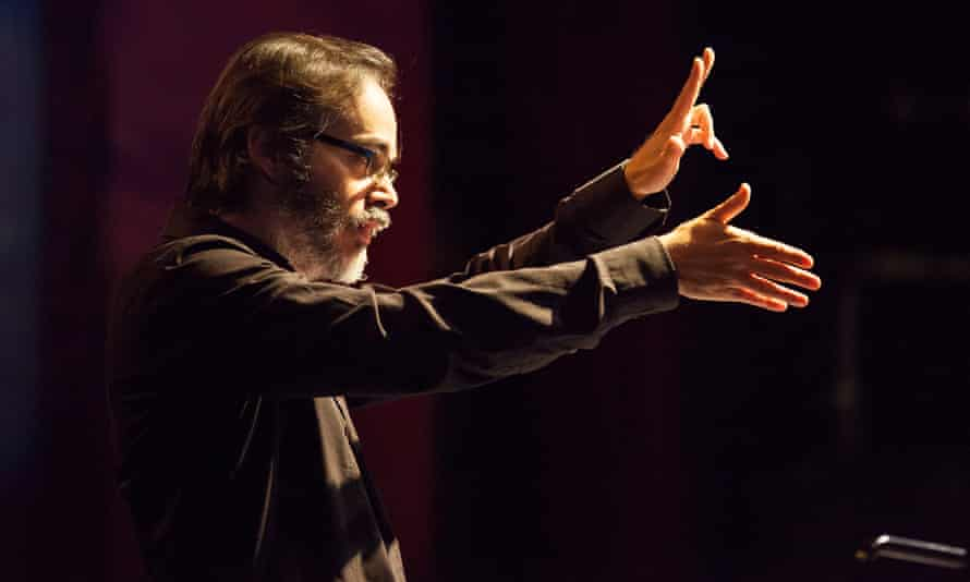 Ilan Volkov performs with London Sinfonietta at the Coronet Theatre in London