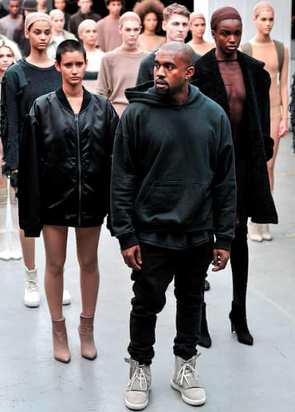 Kanye West xAdidas show, autumn/winter New York, 2015.